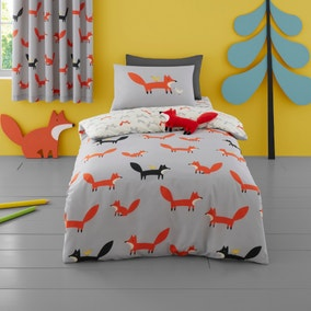 Cosatto Mister Fox 100% Cotton Duvet Cover and Pillowcase Set