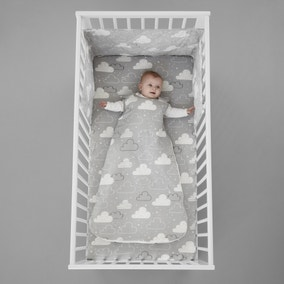 Cosatto Fairy Clouds 100% Cotton 2.5 Tog Baby Sleeping Bag