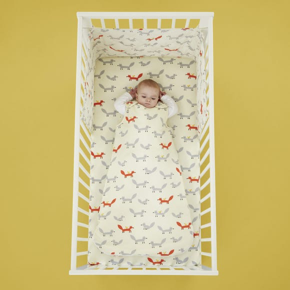 Cosatto Mister Fox 100% Cotton 2.5 Tog Baby Sleeping Bag  undefined