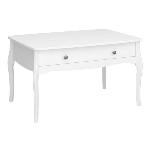 Baroque Coffee Table White