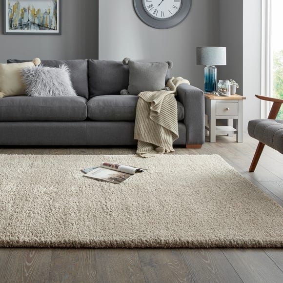Cosy Teddy Rug Teddy Natural undefined