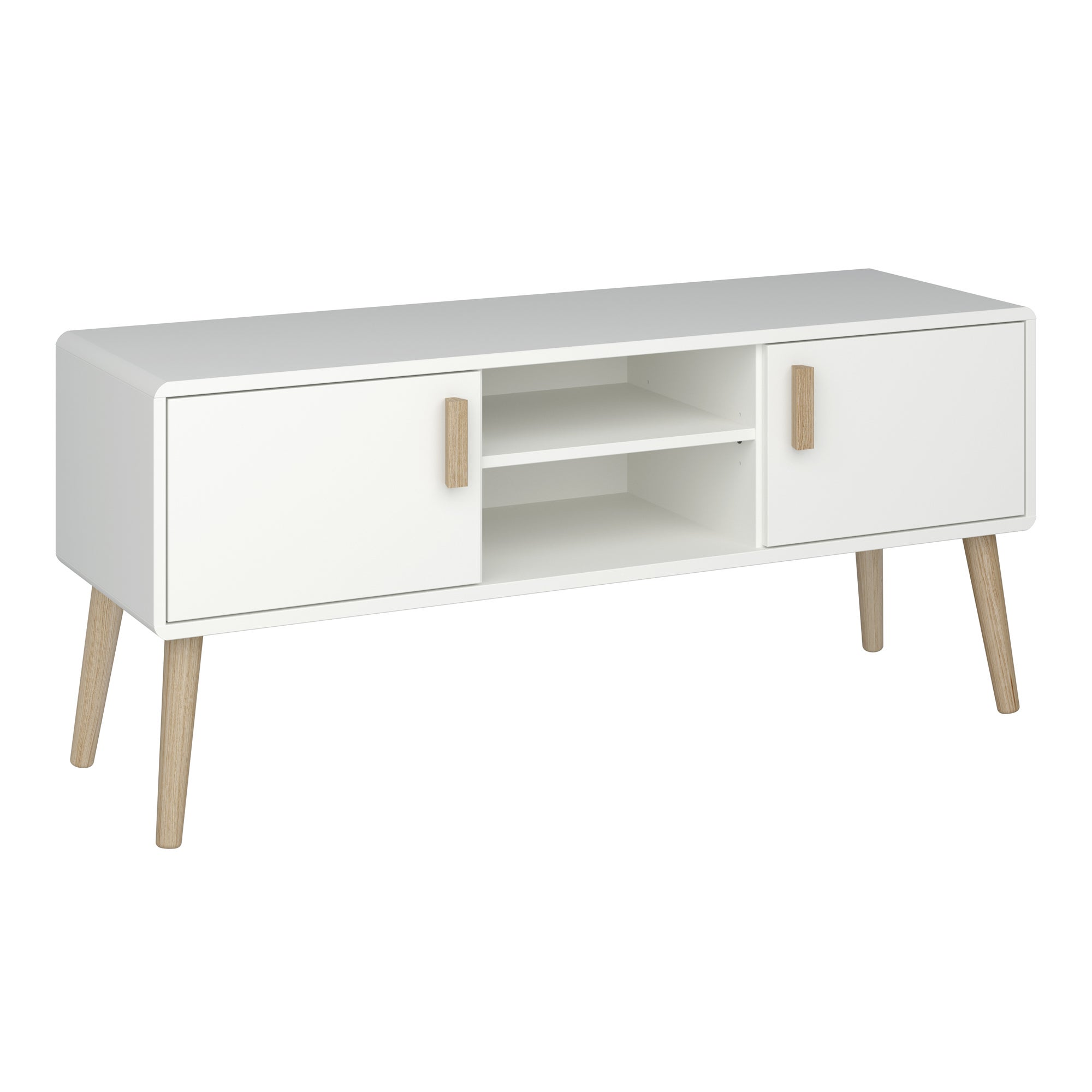 Click to view product details and reviews for Pavona Wide Tv Stand White.
