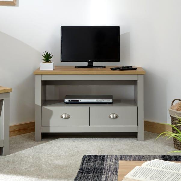 Lancaster Corner TV Stand Grey