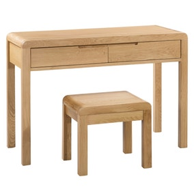 Curve 2 Drawer Dressing Table and Stool