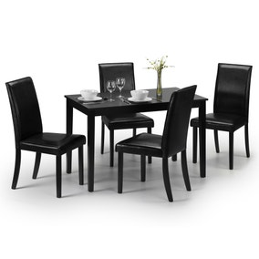 Hudson Dining Table with 4 Chairs