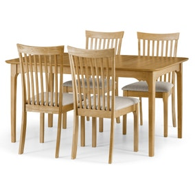 Ibsen Dining Table with 4 Chairs