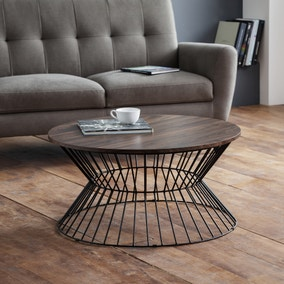 Jersey Round Wire Coffee Table