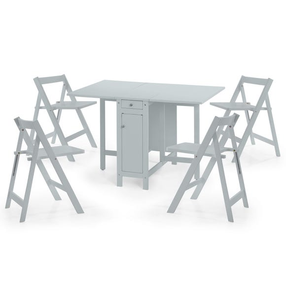 Savoy Grey Dining Table and 4 Chairs