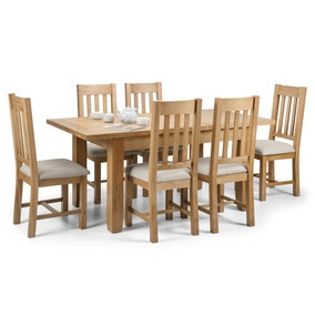 Astoria Extending Dining Table with 6 Hereford Chairs