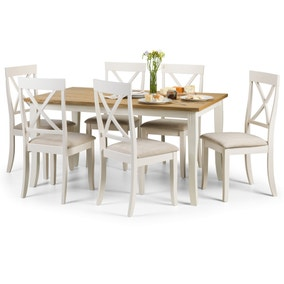 Davenport Dining Table with 6 Chairs