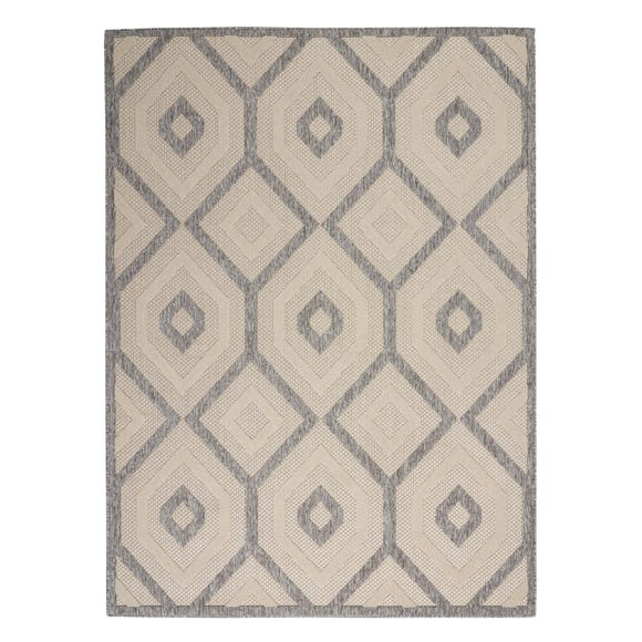 Cozumel Diamond Indoor Outdoor Rug Cozumel Diamond Cream undefined