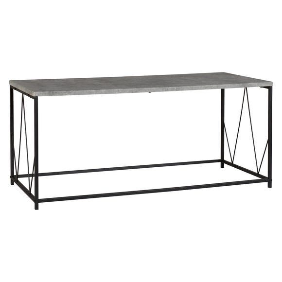 Athens Rectangular Coffee Table Grey