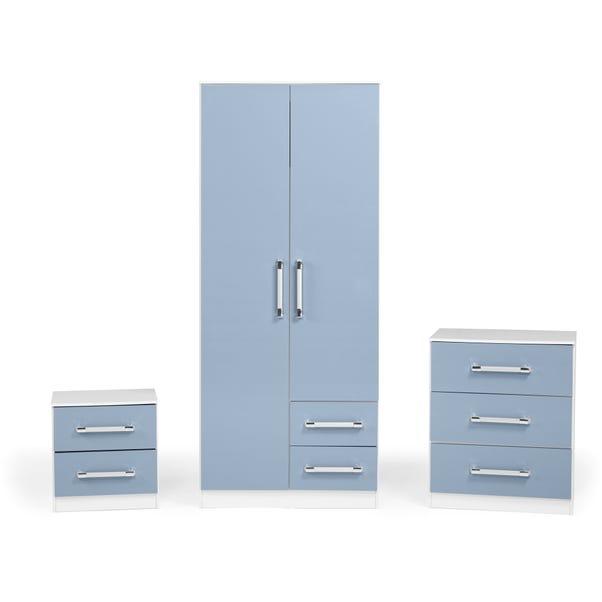 Jasper Bedroom Set - Blue