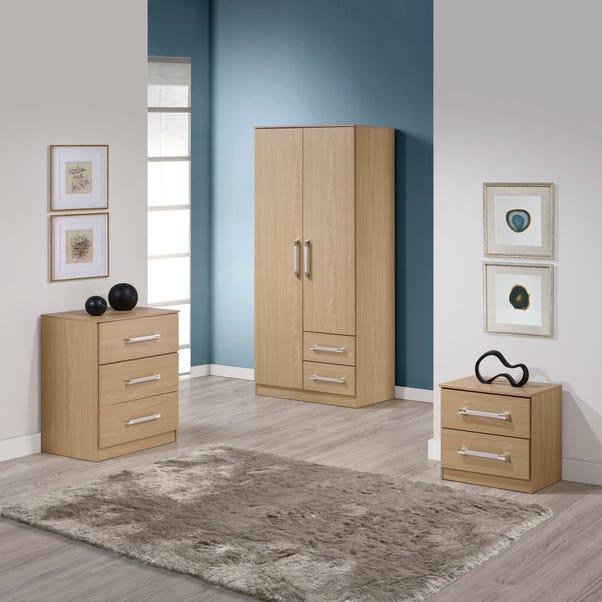Jasper Bedroom Set - Oak