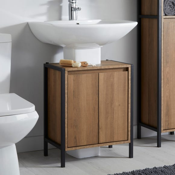 Industrial Under Sink Unit Brown