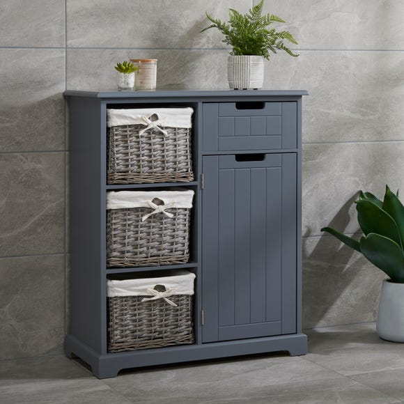 Grey Willow Console Unit Grey