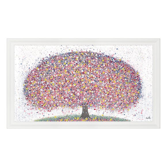 Forever Spring Framed Print MultiColoured