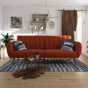 Brittany Linen Sofa Bed