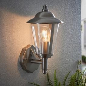 Endon Klien Outdoor Wall Light Steel