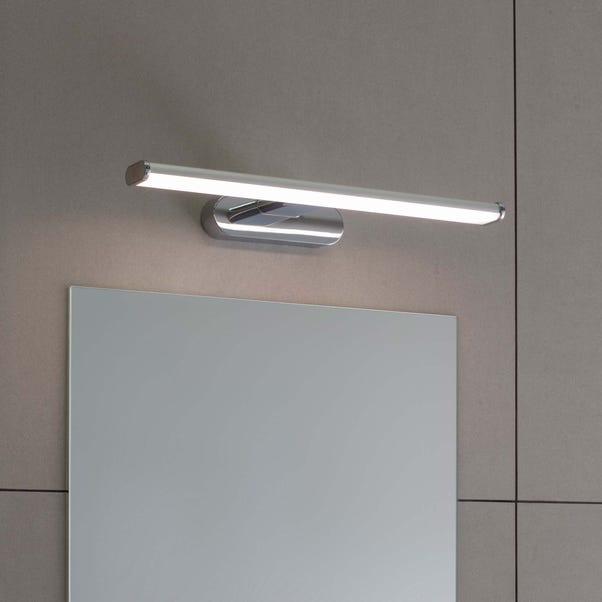 Endon Moda LED Bathroom Wall Light Chrome Silver