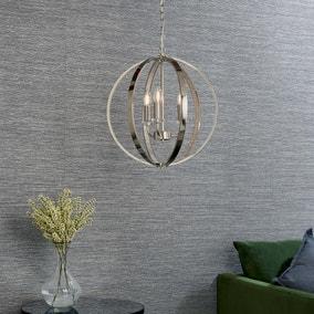 Endon Ritz 3 Light Ceiling Fitting Chrome