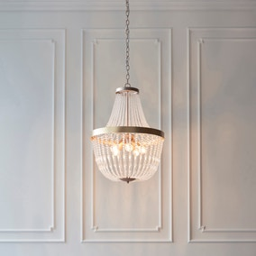 Endon Celine 5 Light Ceiling Fitting Gold