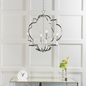Vogue Garland 4 Light Ceiling Fitting Chrome