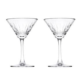 Pack of 2 Elysia Martini Glasses