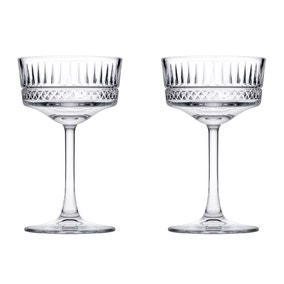 Set of 2 Elysia Champagne Coupes