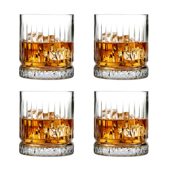 Pack of 4 Elysia Large Tumblers Clear