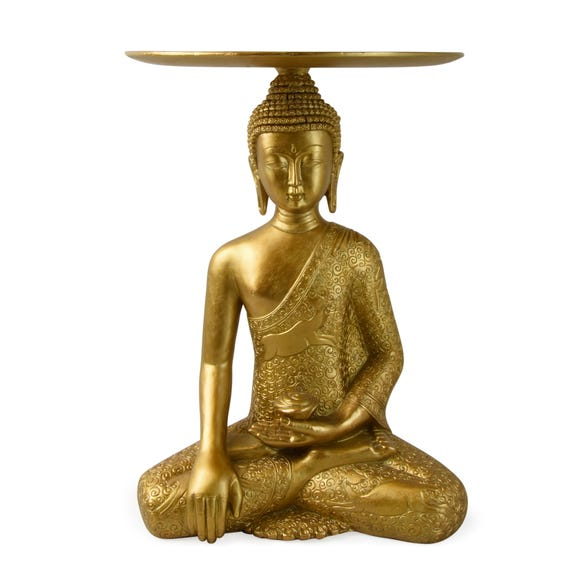 Buddha Side Table Gold