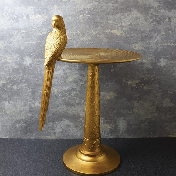 Parrot Side Table Gold