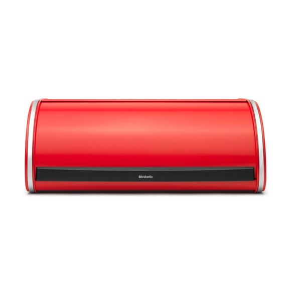 Brabantia Passion Red Roll Top Bread Bin Red