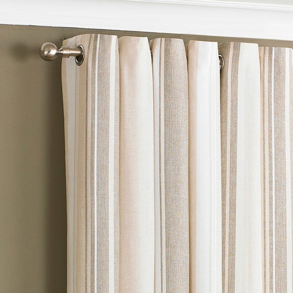 Broadway Coffee Eyelet Curtains  undefined