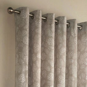 Irwin Stone Eyelet Curtains