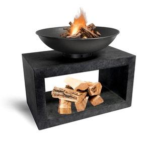 Rectangle Console Granite Fire Bowl