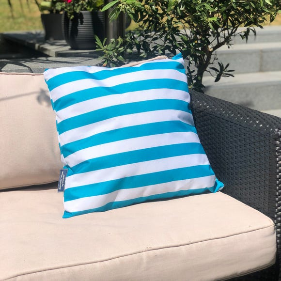 Coast Blue Water Resistant Outdoor Cushion Blue