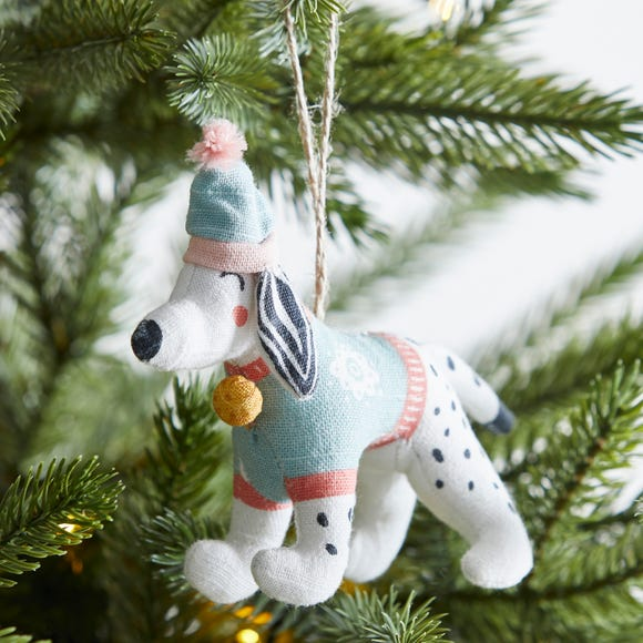 Dalmatian Tree Decoration MultiColoured