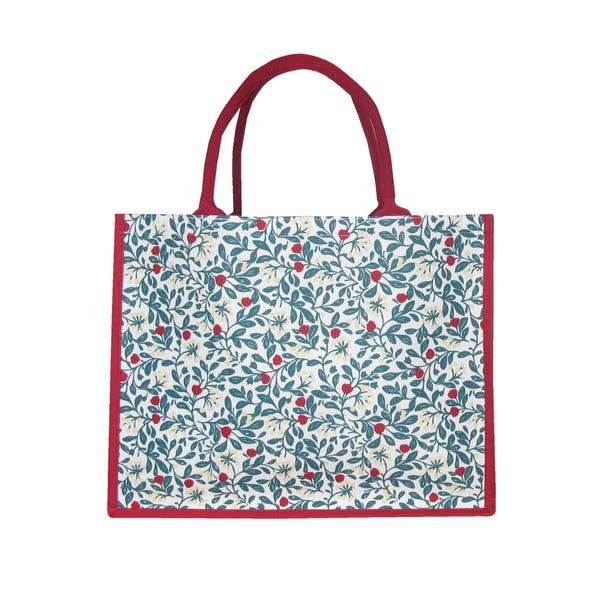 Crafted Christmas Osbourne Large Shopping Bag MultiColoured