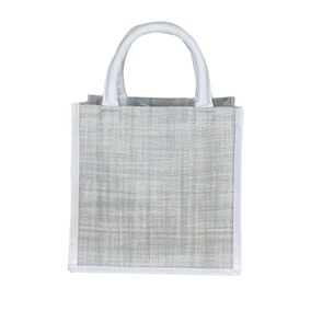 Grey Sparkle and Shine Small Shopping Bag