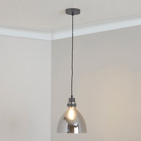 Brogan Gunmetal Ceiling Fitting