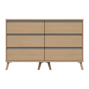 Jenson 6 Drawer Wide Chest