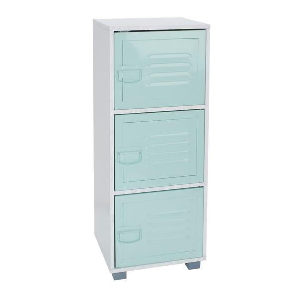 Green Metal Door Cabinet