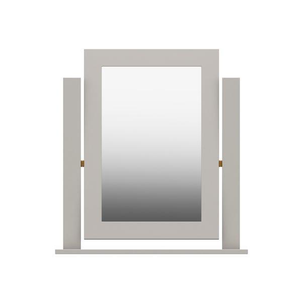 Darwin Grey Dressing Table Mirror Light Grey