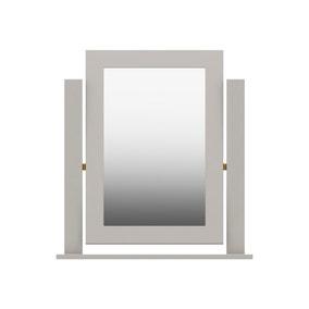 Darwin Grey Dressing Table Mirror