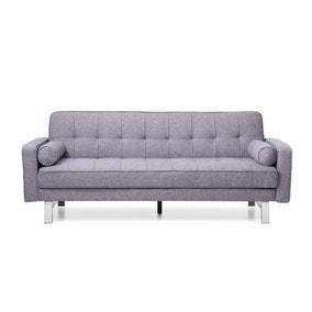 Newman Linen Sofa Bed - Charcoal