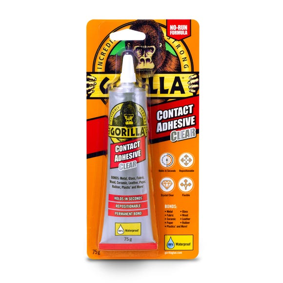 Gorilla Contact Adhesive Clear