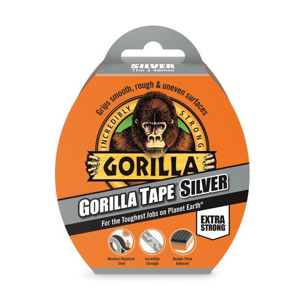 Gorilla 11m Silver Tape