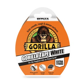 Gorilla 10m White Tape