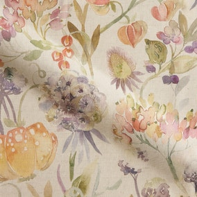 Autumn Floral Made to Measure Fabric Sample